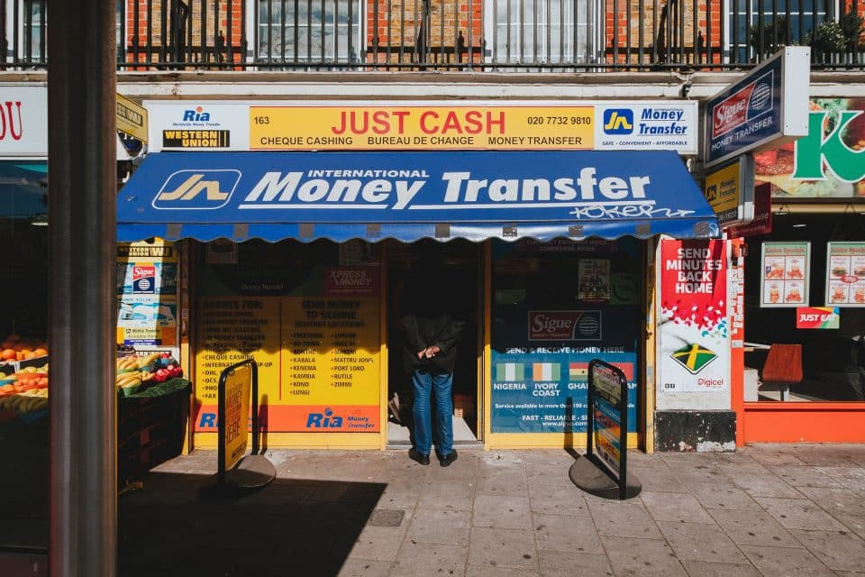 Verse: trasferimenti di denaro
