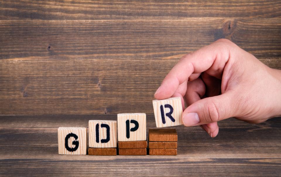 GDPR per siti web e blog